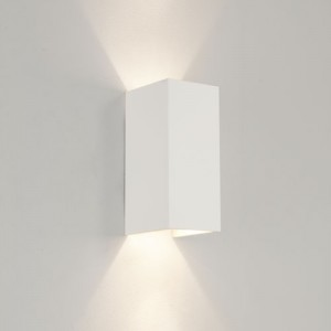 Plaster Up Down Wall Light supplied by Online Lighting Design