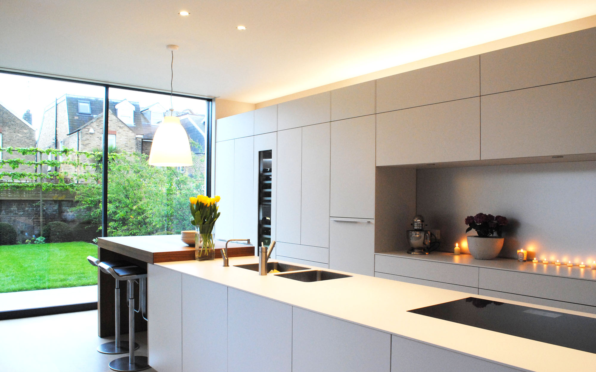 Lighting kitchens luxplan luxplan for New kitchen london