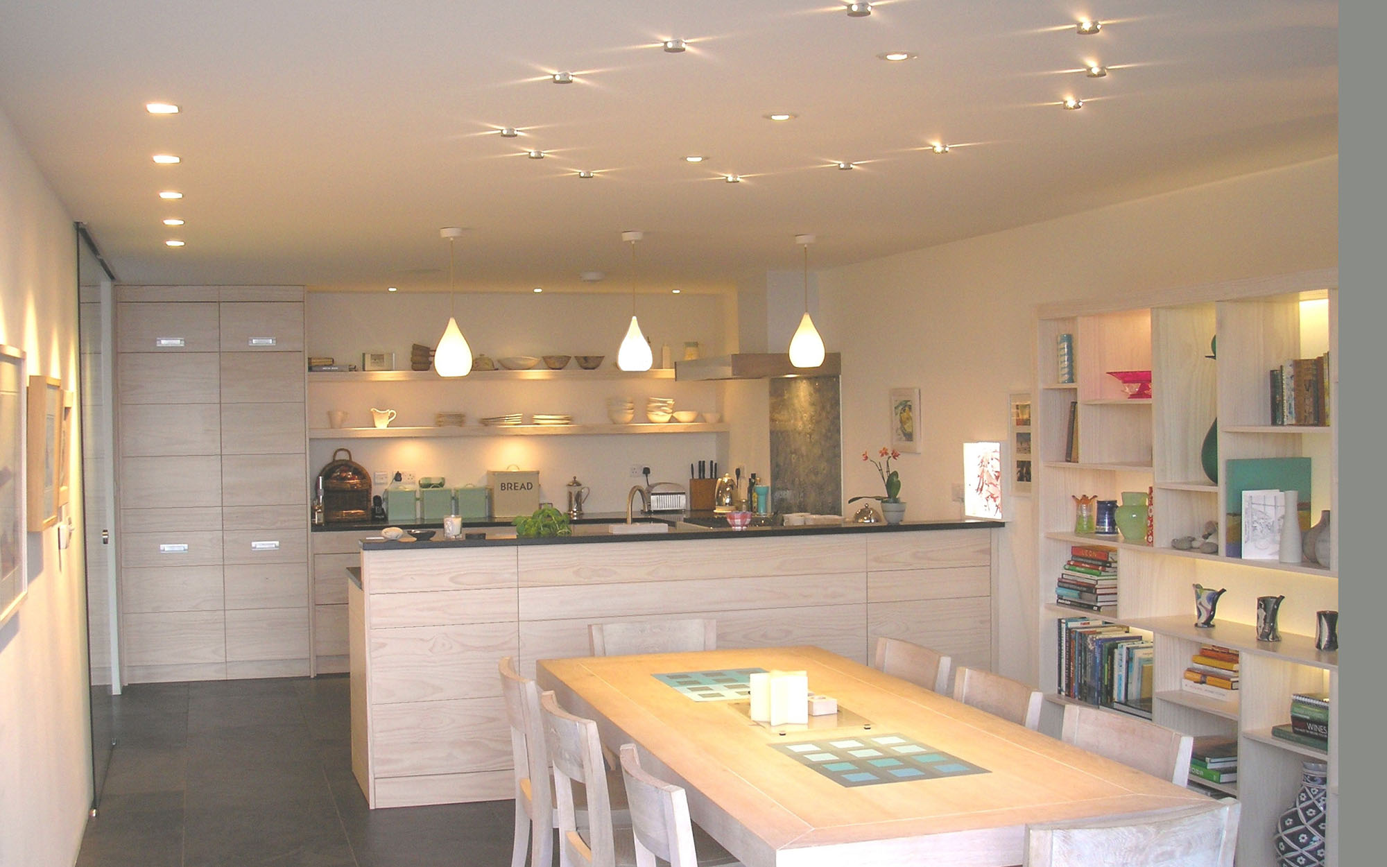 designer kitchen lights uk lighting kitchens luxplan luxplan 642