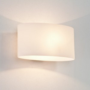 Oval Frosted Light - unswitched