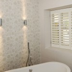 Exterior lights used in bathrooms