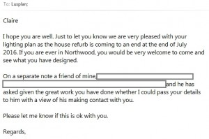 Client email - 1