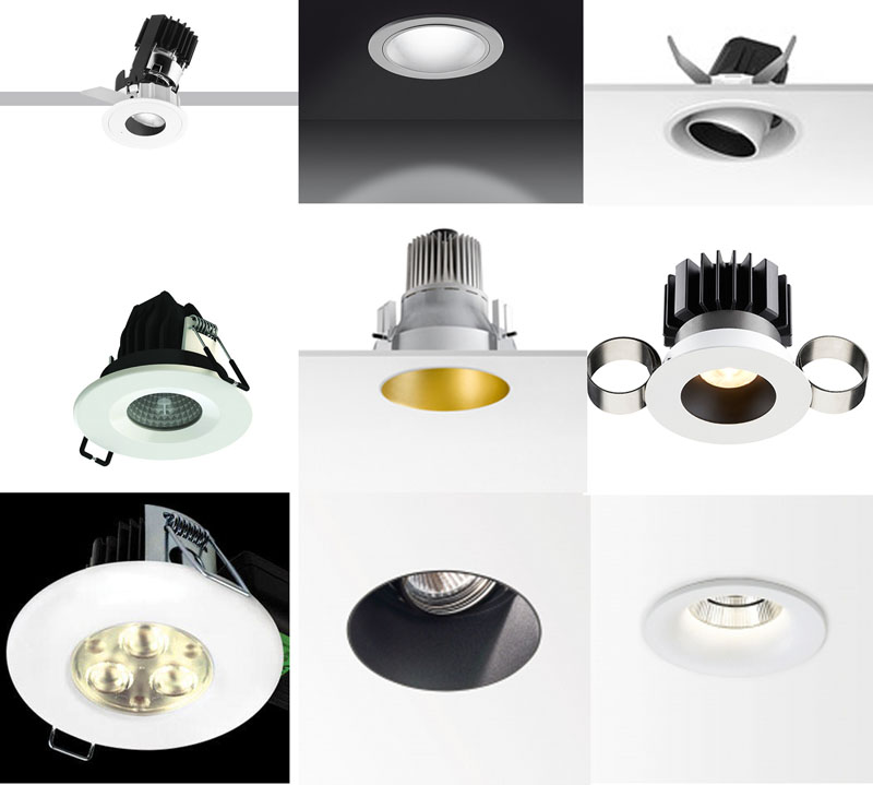 What type of downlights should I use in my new-build